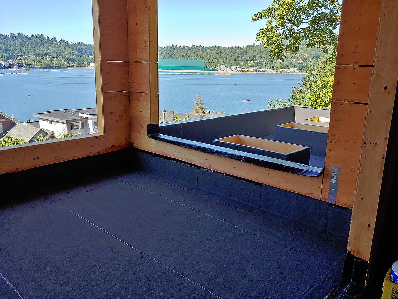 New Build – Waterproofing