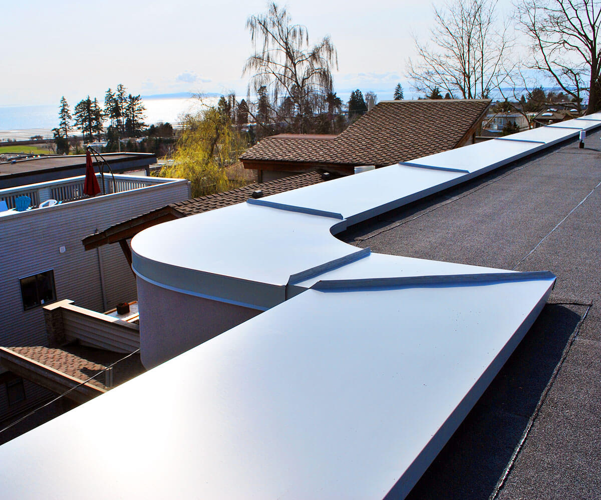 Sheet Metal Installations | BestWest Roofing | Since 2001